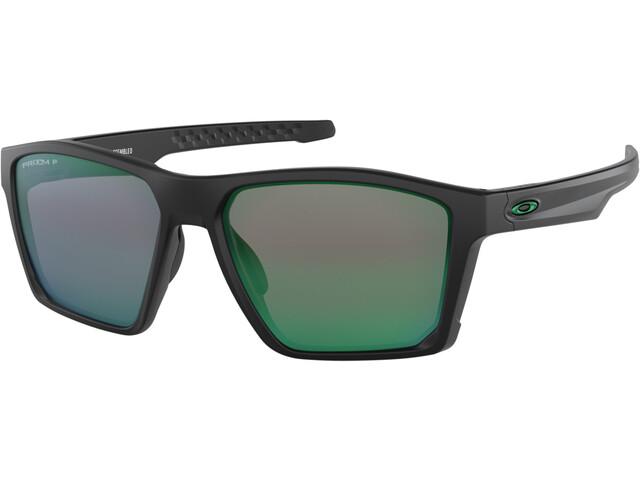 Oakley Targetline Okulary przeciwsłoneczne, matte black/prizm jade polarized